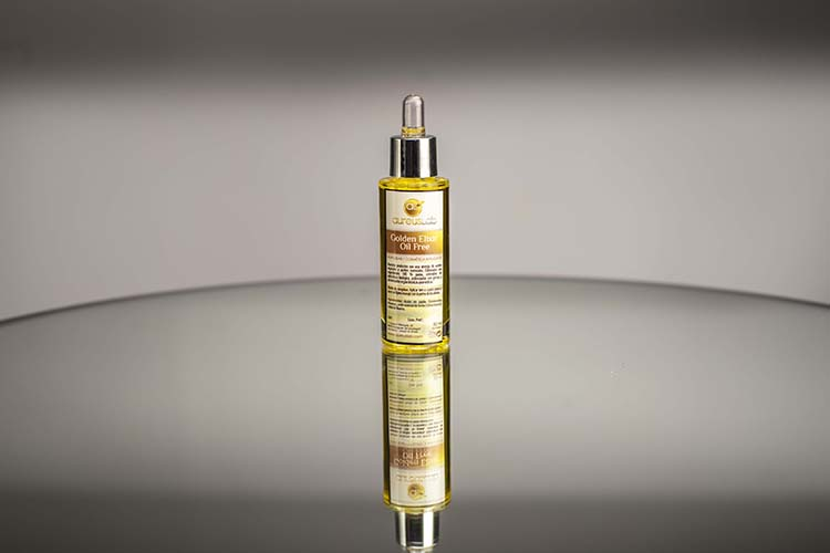 Golden elixir oil free